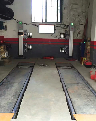 Easy 3D Wheel Alignment