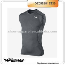 High performance sleeveless men running shirt wholesale price