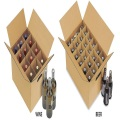 Heavy Duty Cardboard 24 botellas Beer Box