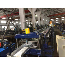 Máquina formadora de rolos de bandeja de cabos automática ajustável