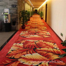 Washable Used Hotel Carpet Short Plush Fabric Floor Carpet