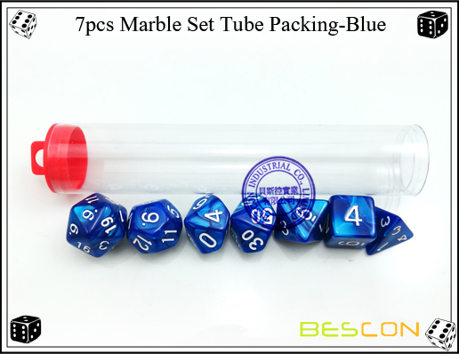 7pcs Marble Set Tube Packing-Blue2