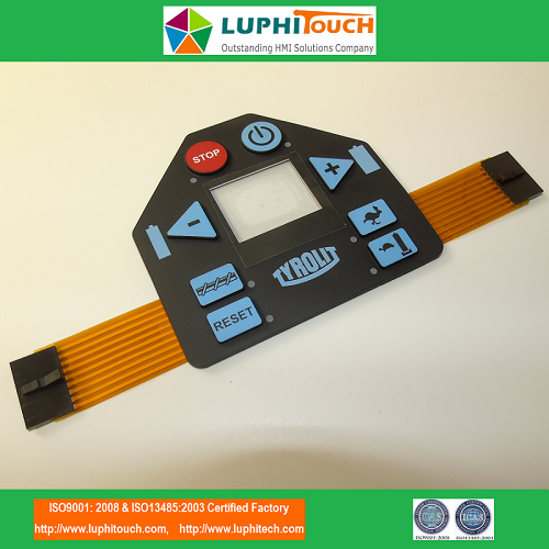 Silicone Rubber Keypad FPC Circuit Membrane Switch