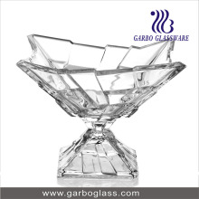 New Design Glass Bowl with Stand for Canton Fair