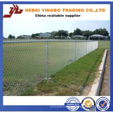 Esquinero de eslabones de cadena temporal recubierto de PVC o galvanizado en venta