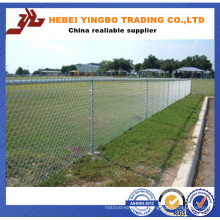 Galvanized or PVC Coated Temporary Chain Link Fencing for Sale