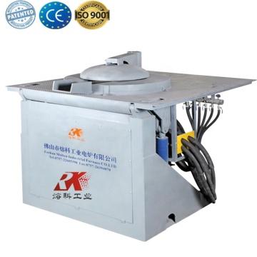 Industrial iron scrap medium frequency blacksmiths furnace