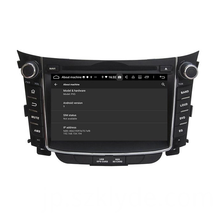 Hot sale car radio for I30