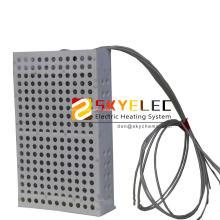 PTFE-Tauchheizkörper mit flexiblem Riser
