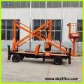 hydraulic raising platform for cleaning window