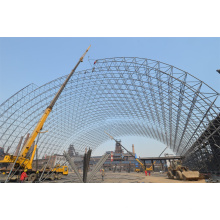 Stahl Raumrahmen Kohle Lager Bau Bau Dome Dach