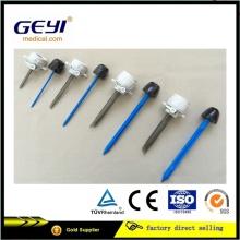Geyi descartáveis cirúrgico Laparoscopic Trocar 5mm com Cannular CE Certificação