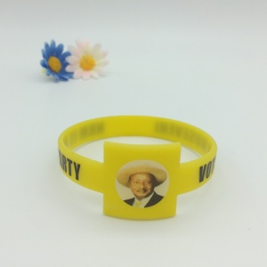 Custom Africa Style Watch Shape Silicone Wristband