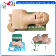 Novo manequim de treinamento de intubação endotraqueal