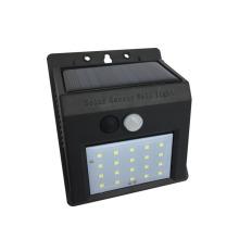 Portable outdoor ip44 solar wall light for garden