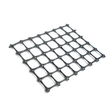 PP biaxial geogrid plastic is suitable for secondary reinforcement of the soil slope behind uniaxially stretched plastic geogrid