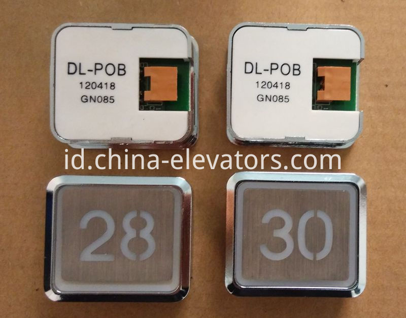 HSS Ultrathin Push Button for Hitachi Elevators DL-POB