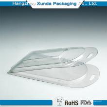 Embalagem de plástico descartável transparente