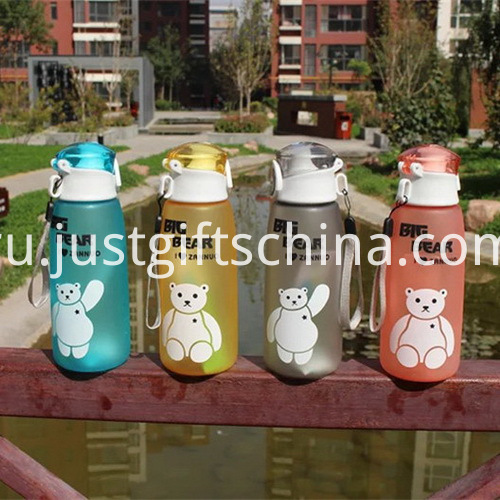 Promotional Food Grade Printed Cartoon Kids Cup with String4