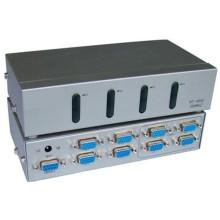 Comutador Matrix 4 a 4 VGA com Controle Remoto