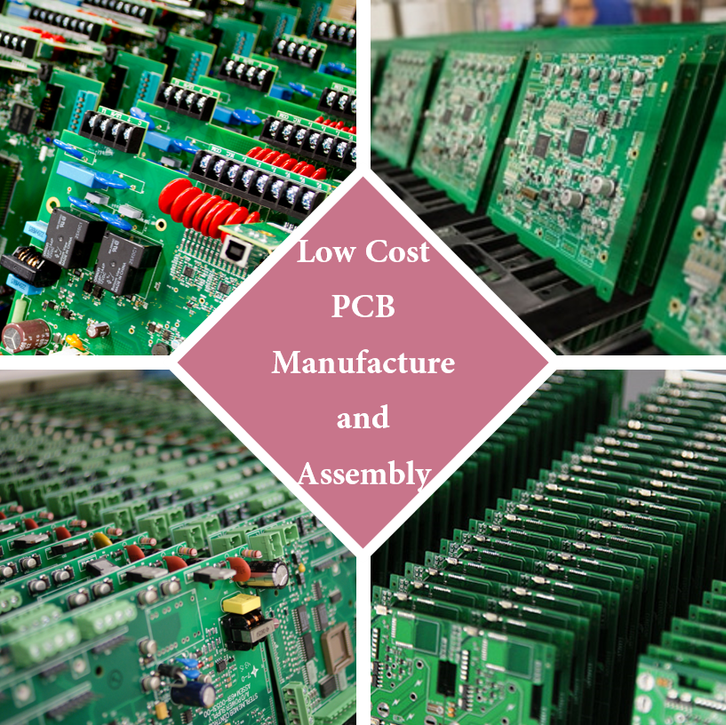 Low Cost PCB Manufacture and Assembly