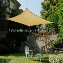 Vela de sombra solar estabilizada com HDPE + UV para garagem