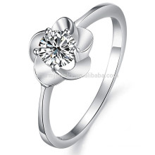 wholesale Luxury White Gold Ring Rhinestone Ring Wedding jewelry dj906