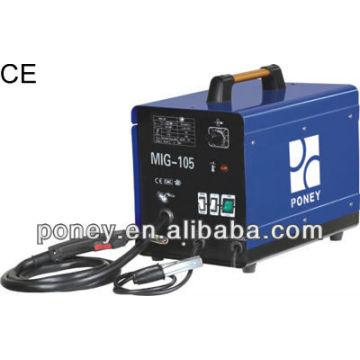 CE DC gas & no gas mig 230v 100/120 / 150A modèle C / machine industrielle / machine à souder portable à bas prix / pour soudure