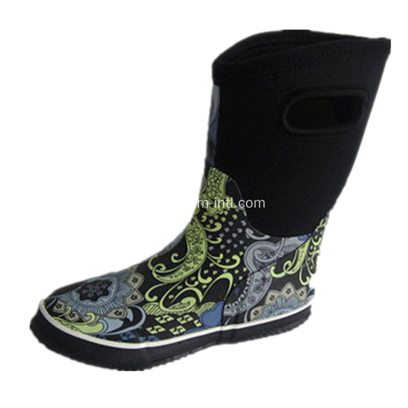 Children's Neoprene Rain Boots