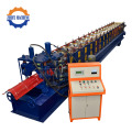 Galvaniserade Tak Ridge Cap Roll Forming Machines