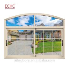 Последние Алюминиевые Вверх Вниз Конструкции Раздвижных окон для Дома