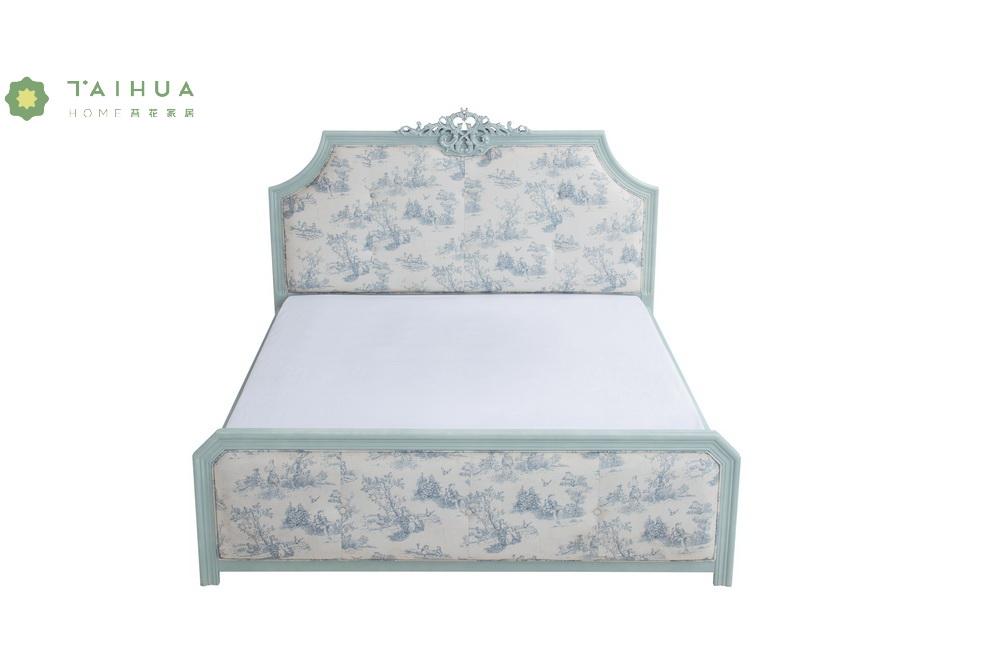 Light Blue Livingroom Bed