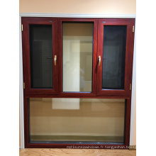 Foshan Woodwin Fenêtre en aluminium trempé à haute qualité en aluminium trempé