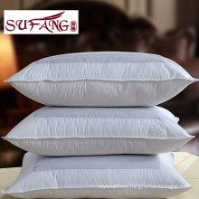 Chinese used feather silk pillow Stereoscopic with ear hole Buckwheat pillow