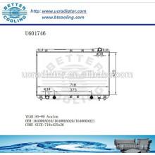 Radiador para TOYOTA AVALON 95-99 164000A010 / 164000A020 / 164000A021 Fabricante y venta directa!