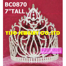 clear rhinestone crowns and tiaras