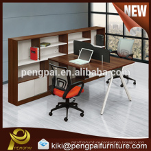 Elegant office table workstation with chairs