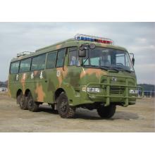 Шестиколесный внедорожный автобус