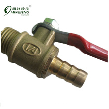 "Female And Male 1/4"" Full Port Mini Ball Valve"