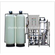 Planta de água Mineral de fluxo 1tph por osmose reversa UF System