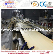 WPC PVC Wood Plastic Wall Panel with Lamination Extrusion Machine for Household Decoration