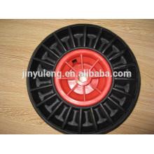 10 x 300-4 резиновые твердый колесо обязанность Барроу / тележка
