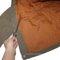 Lässig entspannte Passform Baumwolle / Poly Hood Jacke & Outcoat Männer