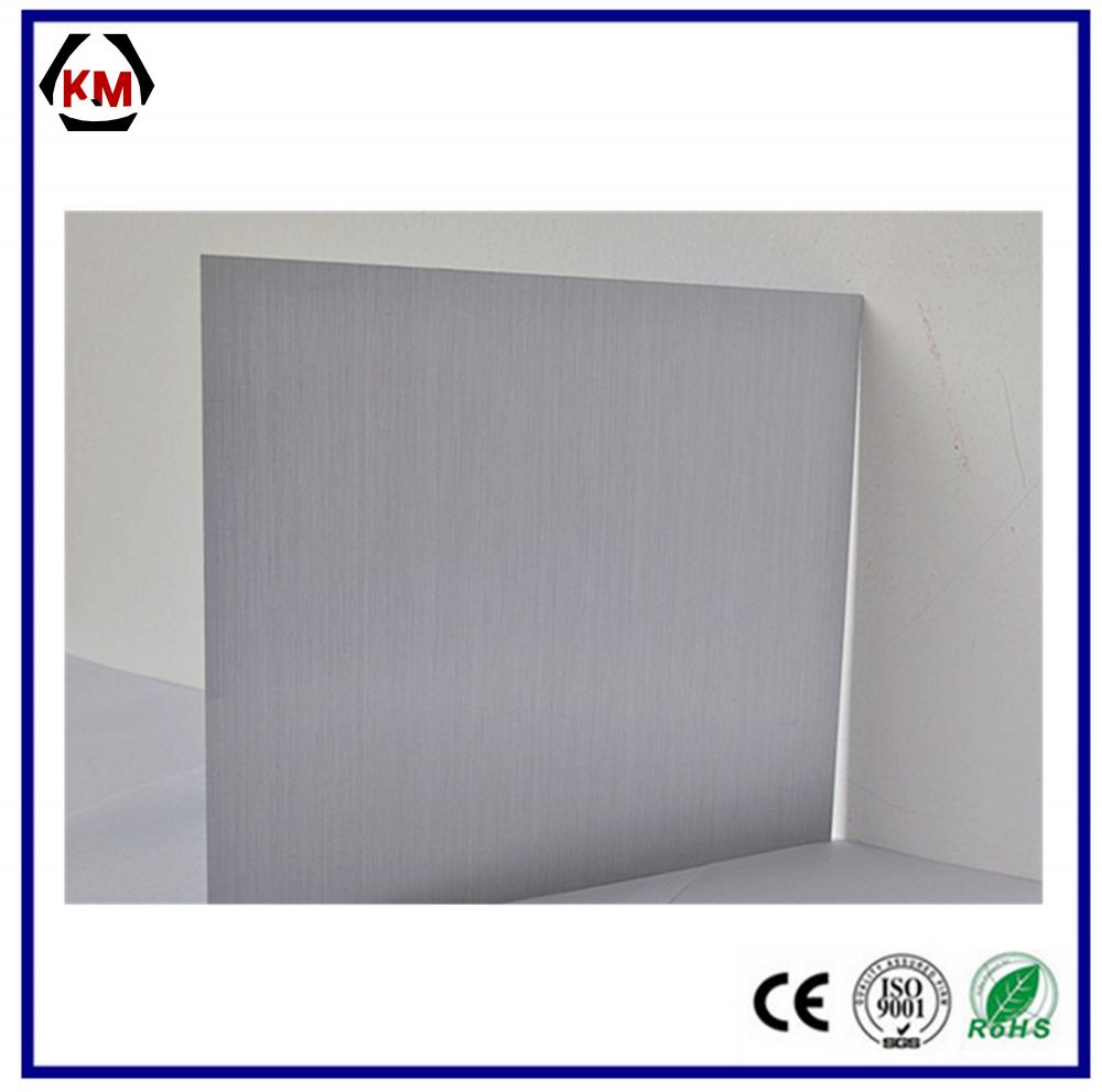 burshed stainless steel laminated aluminum laminated
