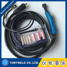 WP26 air cooled tig welding torch The whole torch wp26 in welding torches