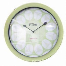 Wall Clock, Available in Various Colors and Finishes, Measures 31.3x31.3x4.8cm