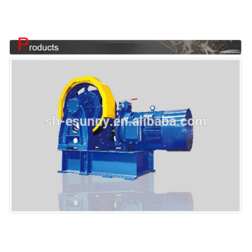 Excellent quality manufacture max power geared traction machine