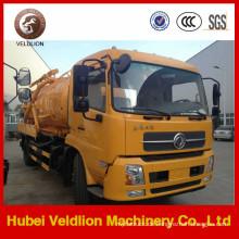 4X2 Abwassersaugwagen 8cbm 10cbm Hochdruckreinigung LKW
