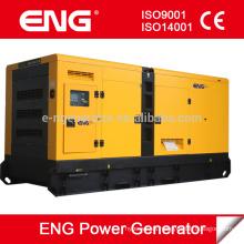 Grupo electrógeno diesel silencioso refrigerado por agua con generador de poder CUMMINS 120kw
