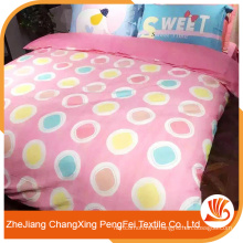 100% polyester fabric painting designs bed sheets 3d